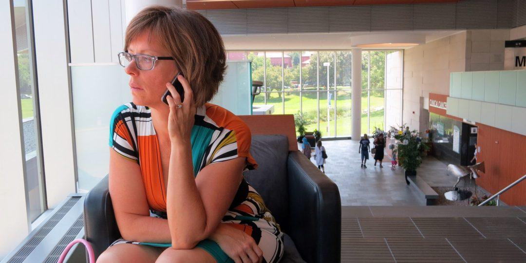 Amy Czerniec at Froedtert Cancer Center, Milwaukee, 8/27/2013