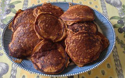 Pumpkin Spice Pancakes for breakfast!