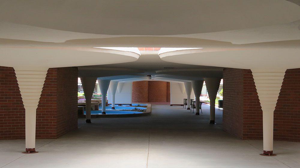 SC Johnson headquarters: carport (Racine WI)