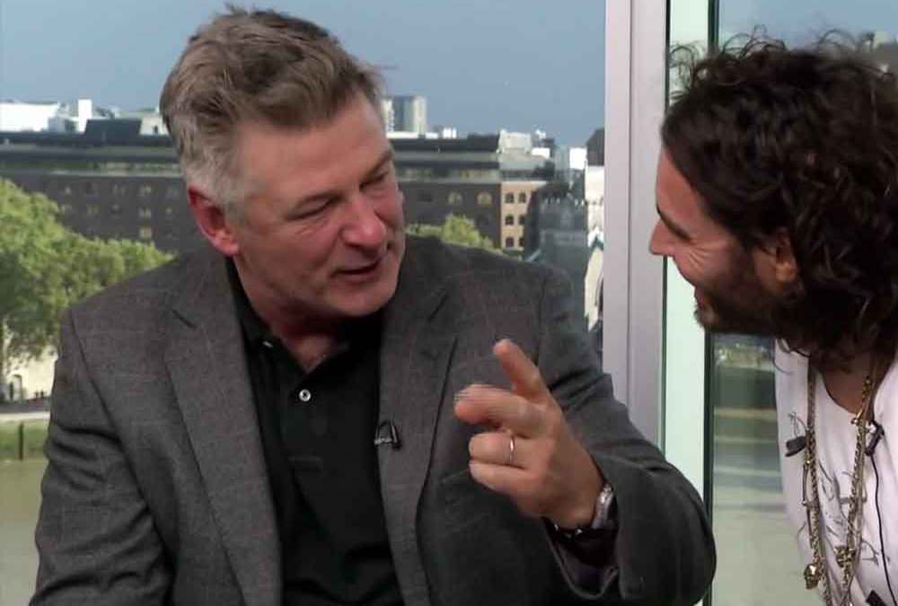 Russell Brand, Alec Baldwin: The rich flee climate change