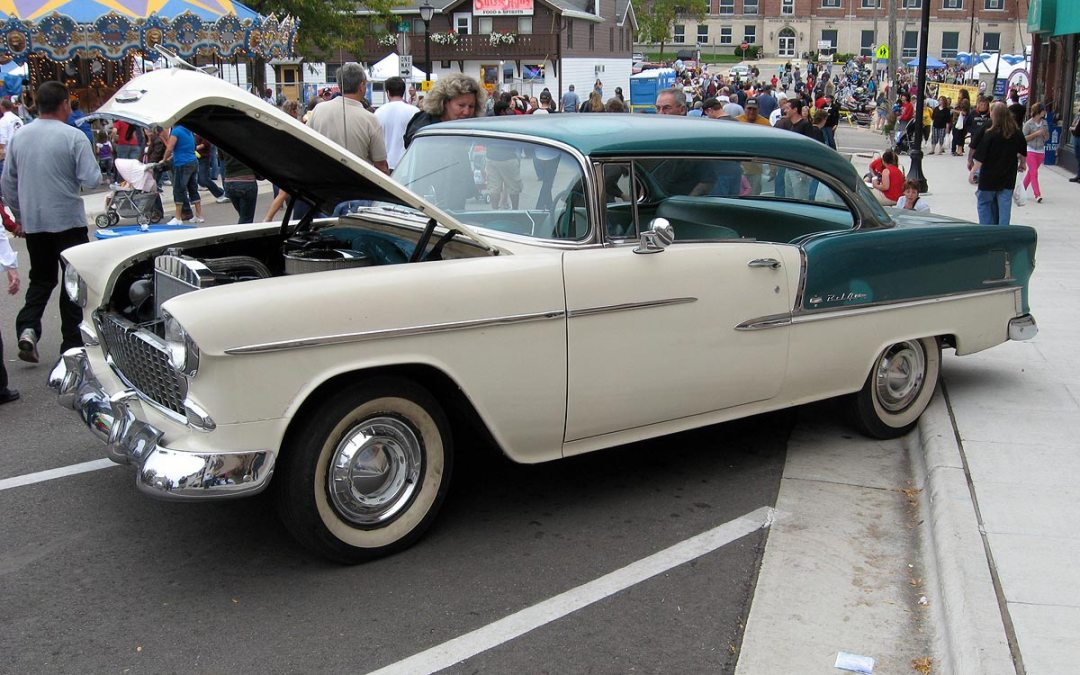 1955 Chevy Bel Air, Monroe, Wisconsin
