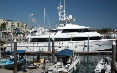 Charter yacht Crystal, Marina Cabo San Lucas, Mexico