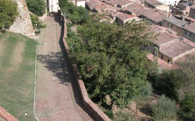 Colle di Val d-Elsa: Via San Sebastiano