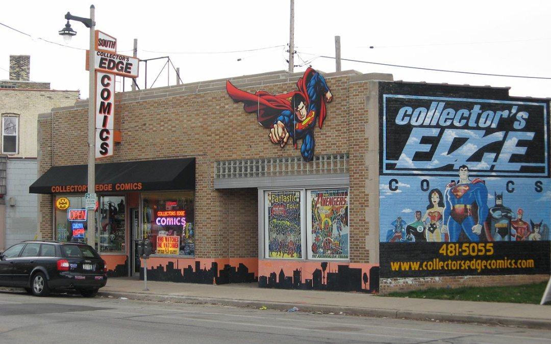 Collector's Edge Comics, Bay View, Milwaukee