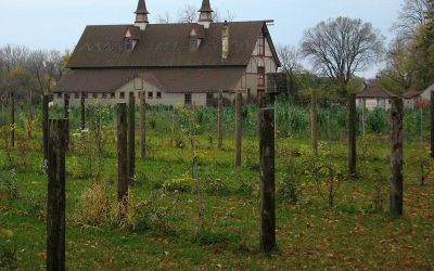 Ernst Klinkert Barn, Piper Farms vineyards in Racine County