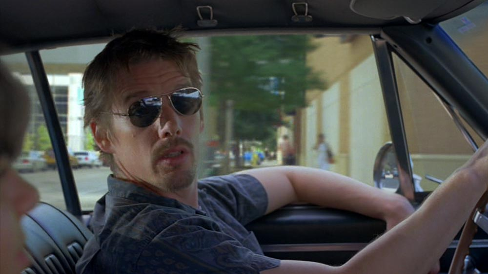 Ethan Hawke in Boyhood (2014 movie)