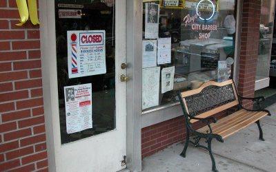 Floyd's Barber Shop, Mount Airy, North Carolina