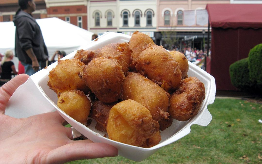 Fried cheese curds, Green County Cheese Days, Wisconsin