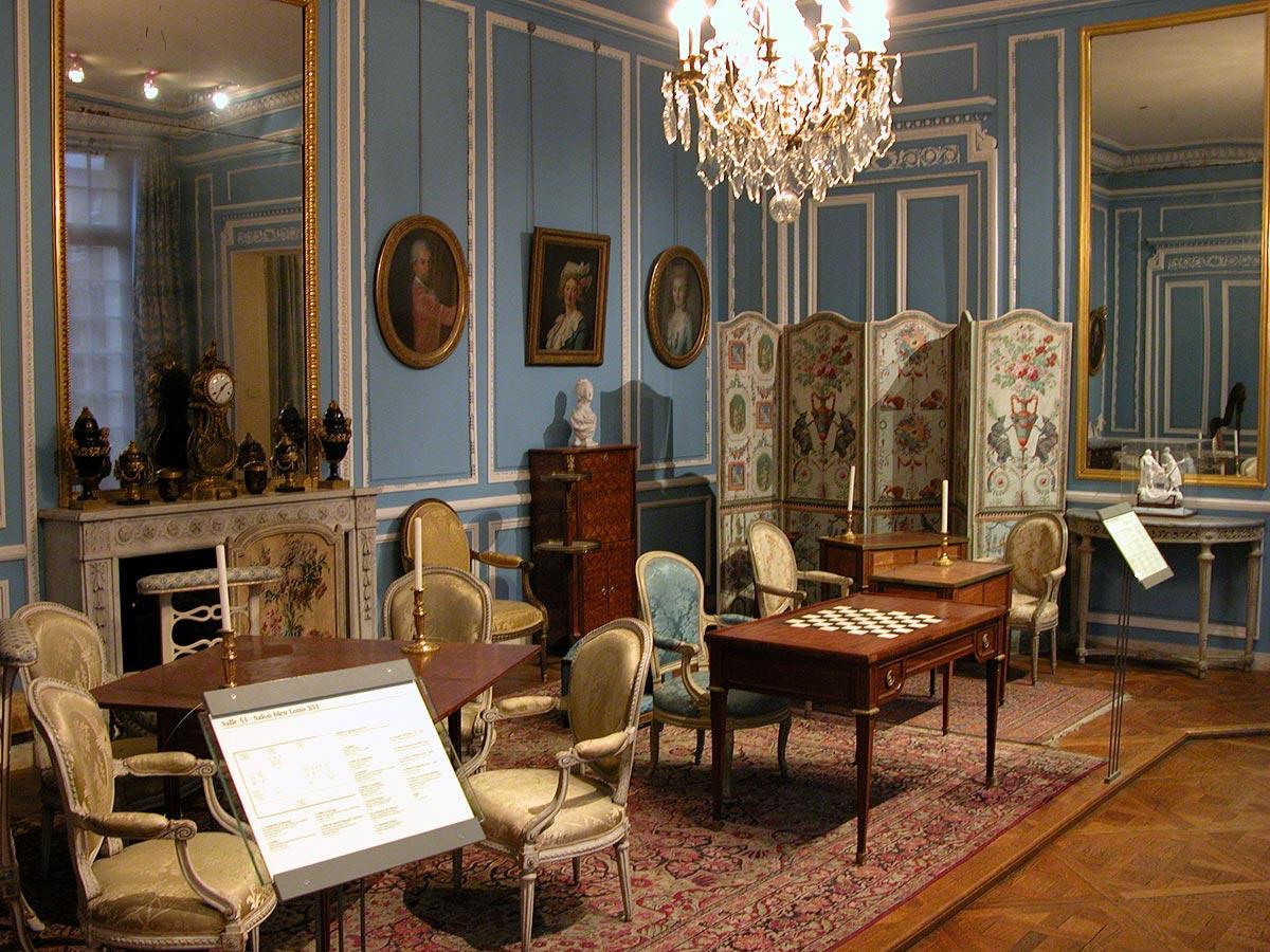 Louis XVI Salon Bleu Carnavalet Museum Paris