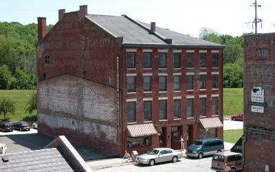Peck Building: Galena River Wine & Cheese, Galena, Illinois