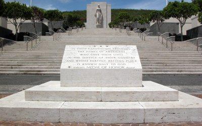 Punchbowl National Cemetery: Honolulu Memorial