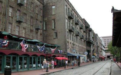 River Street, Savannah, Georgia
