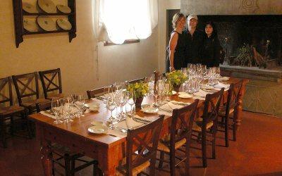 Castello di Nipozzano wine tasting flight, Pelago