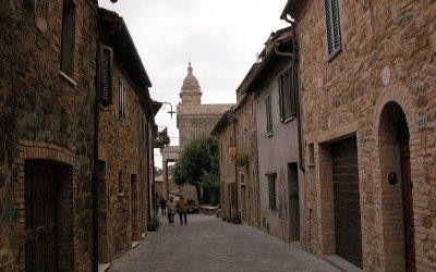 Via Spagni, Montalcino (Siena), Italy