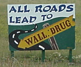 All roads lead to Wall Drug