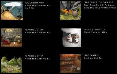 Amanita Design's games