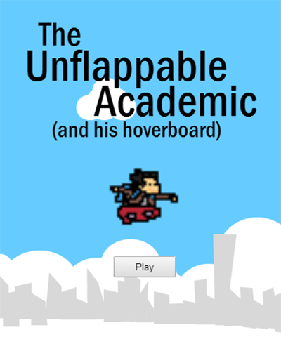 Unflappable Academic start screen