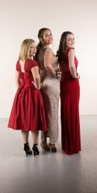 Bella Rafn, Emily Jensen &Katie Brockley
