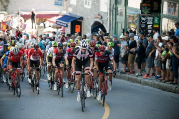 Bike race - Quebec City Grand Prix 2018