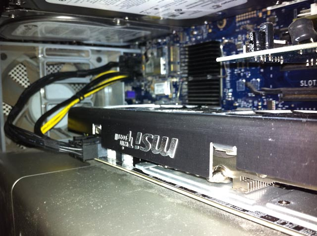 Installed MSI HD R6870 Twin Frozr II
