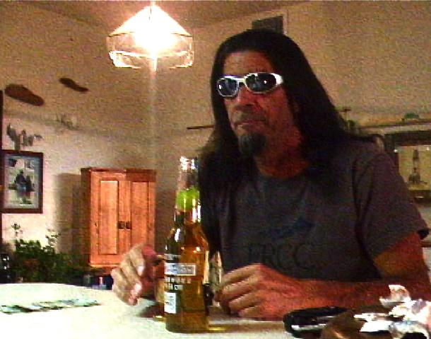 Drinking Writer Man