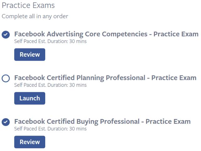 Facebook blueprint practice exams markeko facebook blueprint exams facebook blueprint practice exams malvernweather Images
