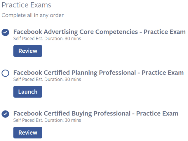 Facebook blueprint practice exams everything you need to know about facebook blueprint practice exams malvernweather Gallery