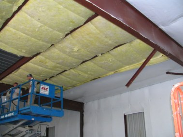 RB, 01-C ceiling-unfaced fiberglass