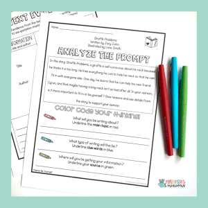 Mentor Text Writing Prompts