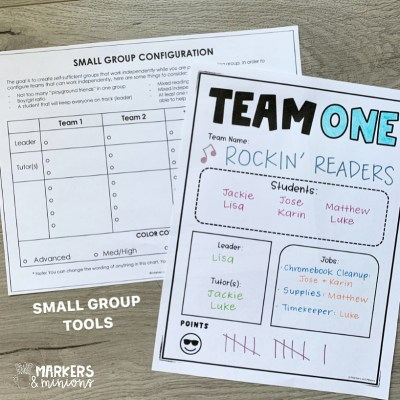 small groups planner