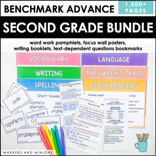 Benchmark Advance Second Grade Bundle