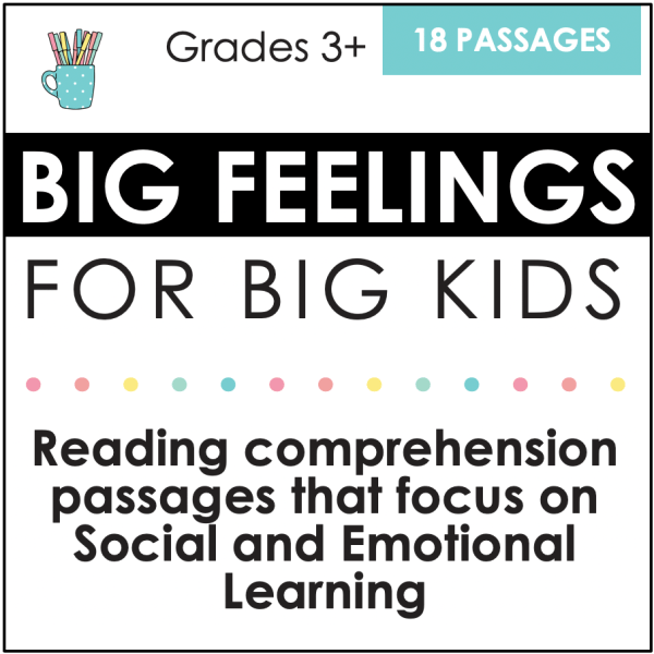 Social and Emotional Learning Reading Comprehension 1