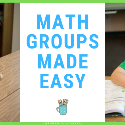math groups made easy