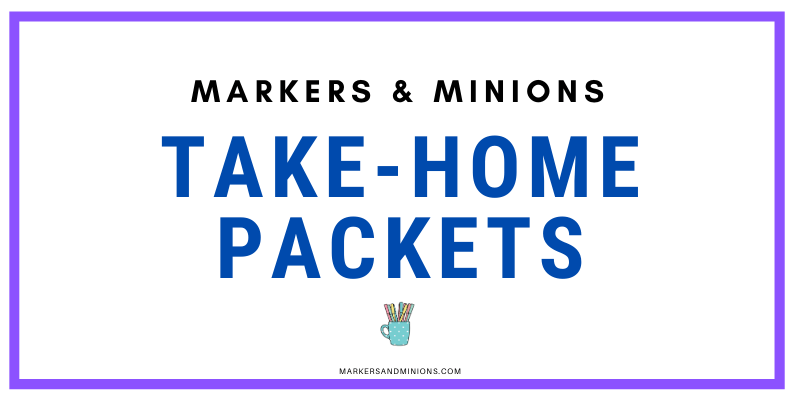 Take Home Packets for School Closures