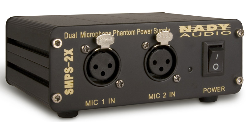 Nady SMPS-2X 2-Channel 48V Phantom Power Supply (for All
