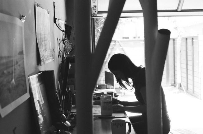 In studio - Santa Ana, CA