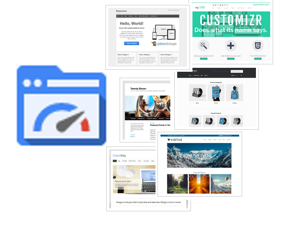 Page Speed Insights und WP Themes