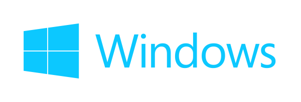 windows 10 logo cyan win10