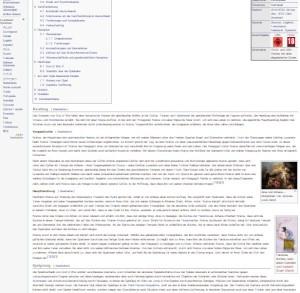 wikipedia artikel visual content