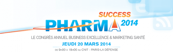 Pharma Compliance Info PharmaSuccess 2014, votre rendez-vous annuel Business Excellence et Marketing Santé Marketing & Market Access