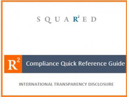 Pharma Compliance Info R-Squared | Quick Reference Guide on International Transparency Global