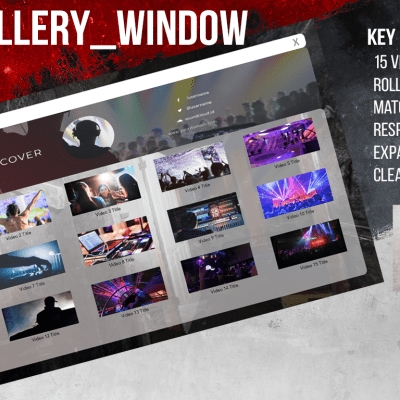 YouTube Style VideoGallery_Window