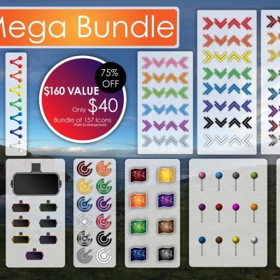 Mega Asset Bundle Icon Set