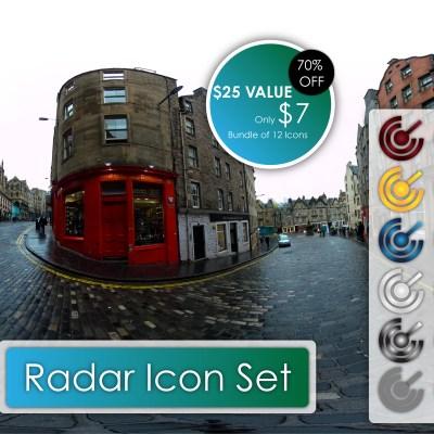 Radar Icon Set