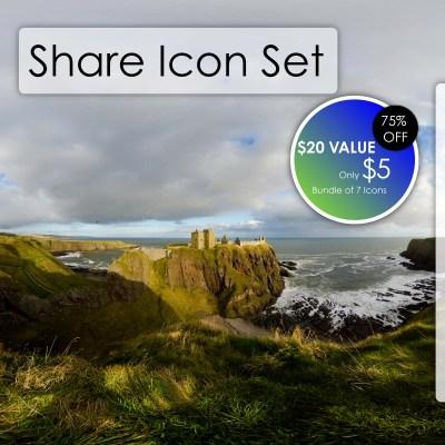 Share Icon Set