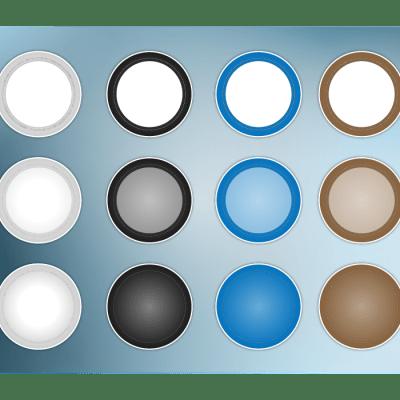 Tripod Caps Set 02