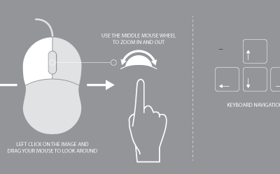 Mouse and Navigation Control Instruction