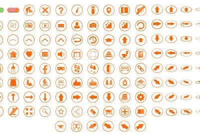 MacNimation Orange on White Set Only Full