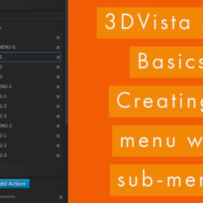 Basic Menu with sub-menus