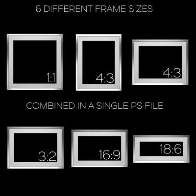 Aluminium Frames Pack